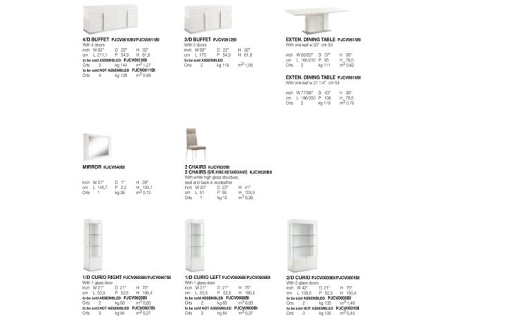 Итальянская мебель: купить Столовая в современном стиле Canova Alf Group - 2