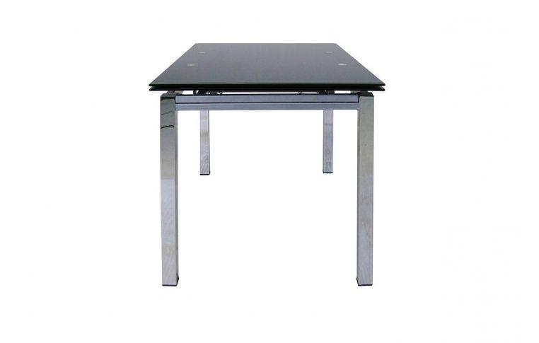 Раскладные столы: купить Раскладной стеклянный стол Обсидиан Richman - 2