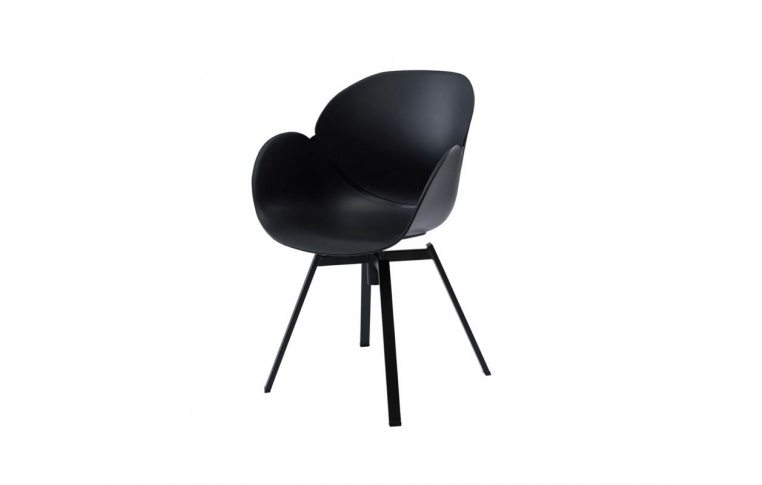 Кресла: купить Кресло поворотное Spider чёрное - 1