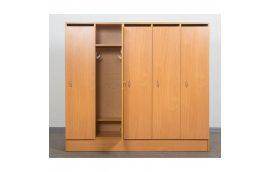 Шкаф для детской одежды (пятиместный)