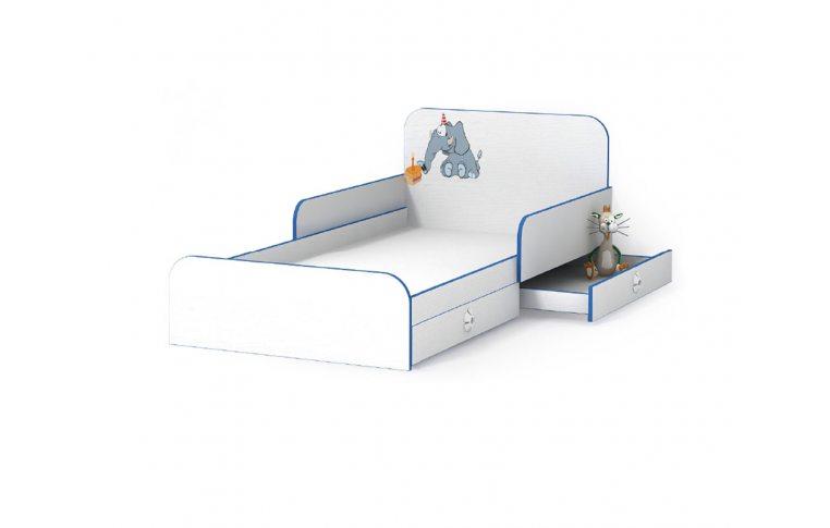 Детская мебель: купить Детская кровать Слоник (Elephant) LuxeStudio - 1
