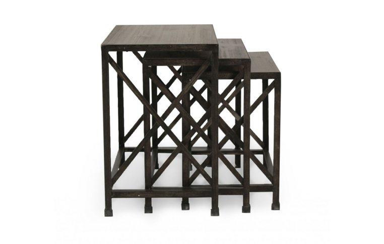 Журнальные столы: купить Стол угловой (н-р из 3 шт.) T500-716 - 1