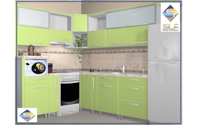 Кухни на заказ: купить Кухня под заказ Пэрис Сильф - 1