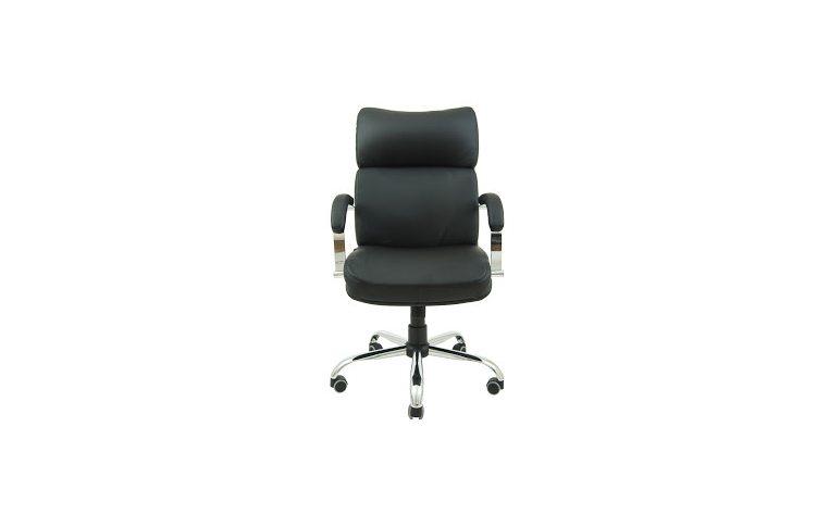 Офисная мебель: купить Кресло Дакота Хром М-1 Титан черный Richman - 2
