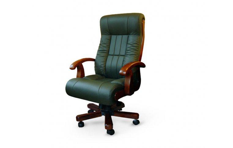 Кресла для руководителя: купить Кресло Мурано CA-1237 зеленый Диал - 1