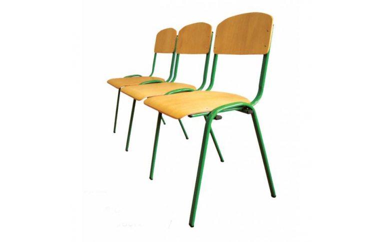 Школьные стулья: купить Секция стульев для актового зала - 1