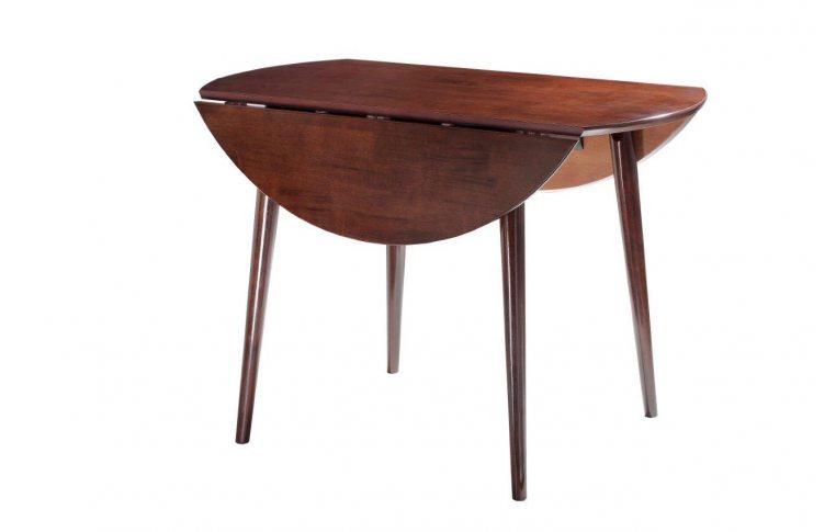 Кухонные столы: купить Стол круглый раскладной Астер венге Domini - 2