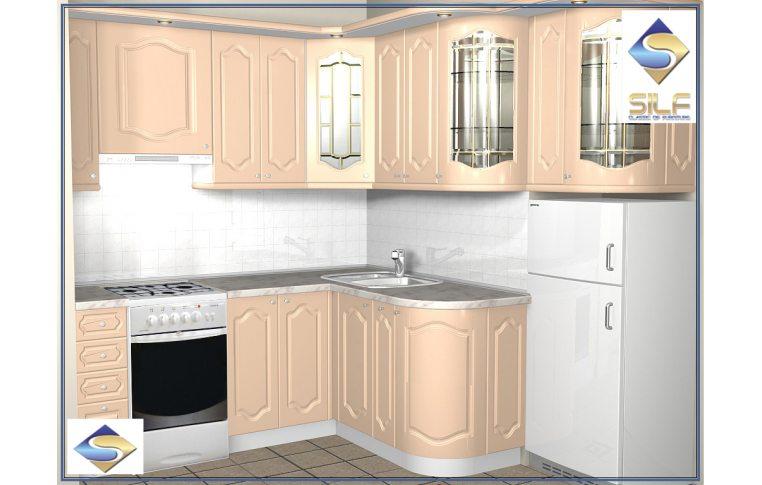 Кухни на заказ: купить Кухня под заказ Валенсия Сильф - 1