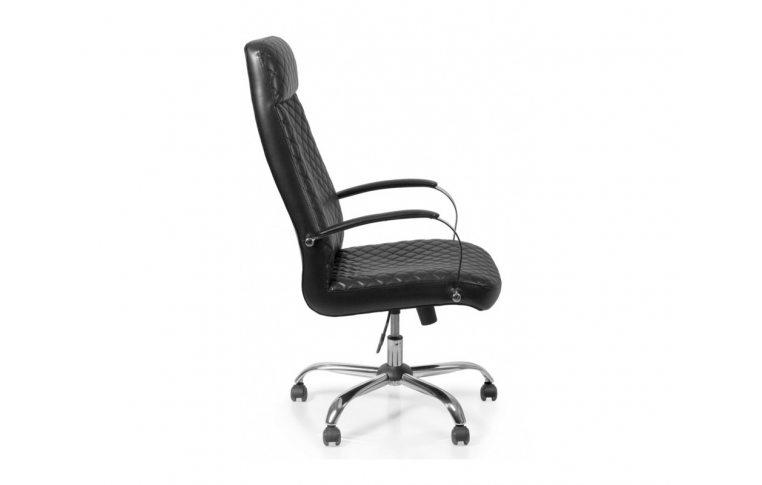 Кресла для руководителя: купить Кресло Barsky Chief Black Rhombus/Red tree chr CF-07 - 3
