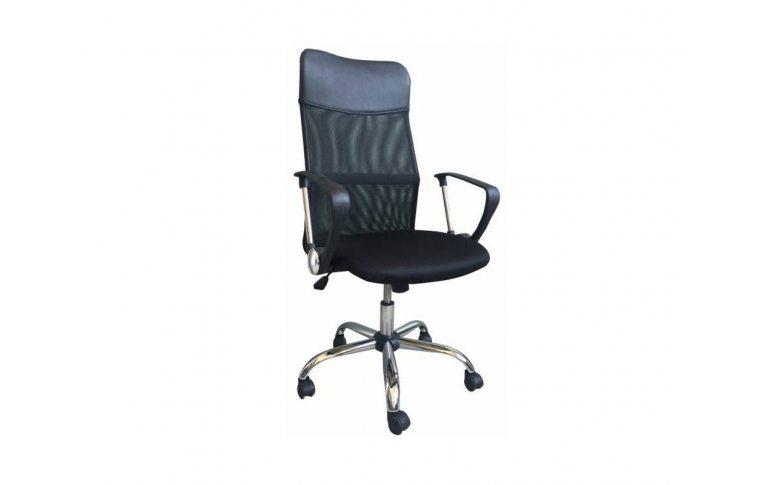 Кресла для руководителя: купить Кресло Ультра Хром М-1 Сетка+PU Черный Richman - 1