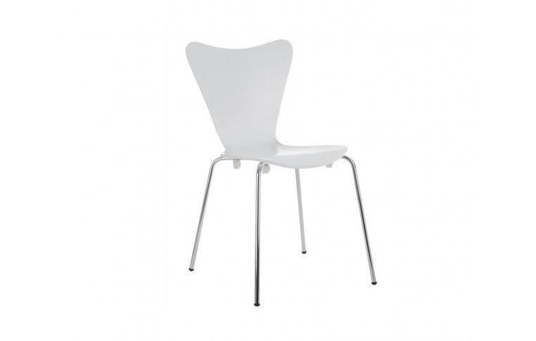 Кухонные стулья: купить Стул Ант, гнутая фанера, белый - 1