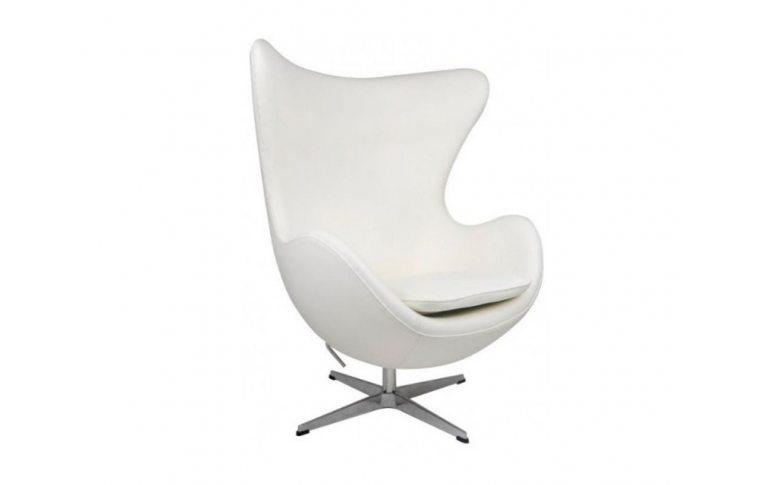 Кресла: купить Кресло Эгг (Egg) белый - 1