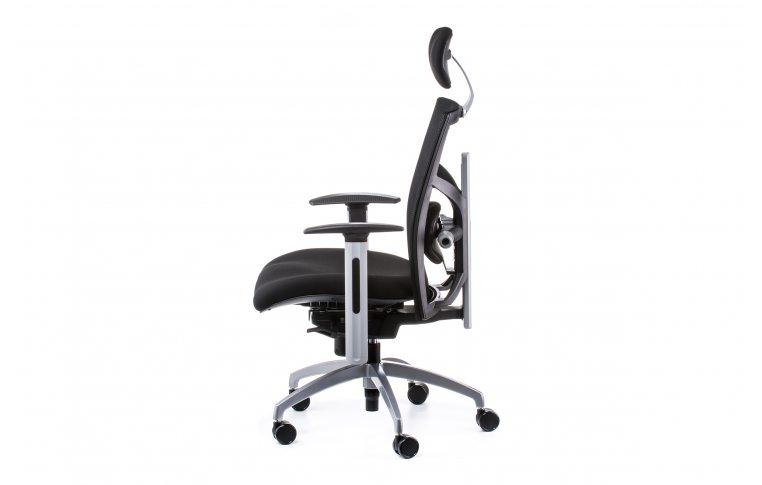 Офисные кресла: купить Кресло EXACT BLACK FABRIC, BLACK MESH - 3