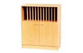 Школьная мебель: купить Секция для журналов нижняя С-013