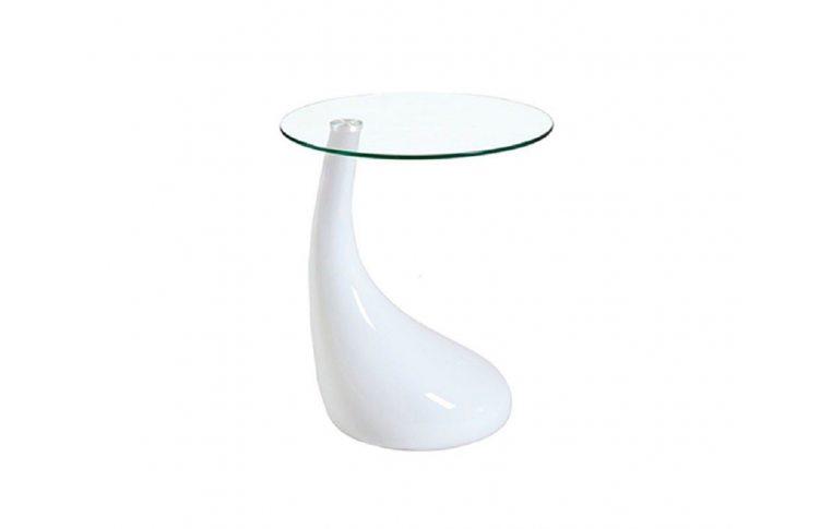 Журнальные столы: купить Стол журнальный Перла белый - 1