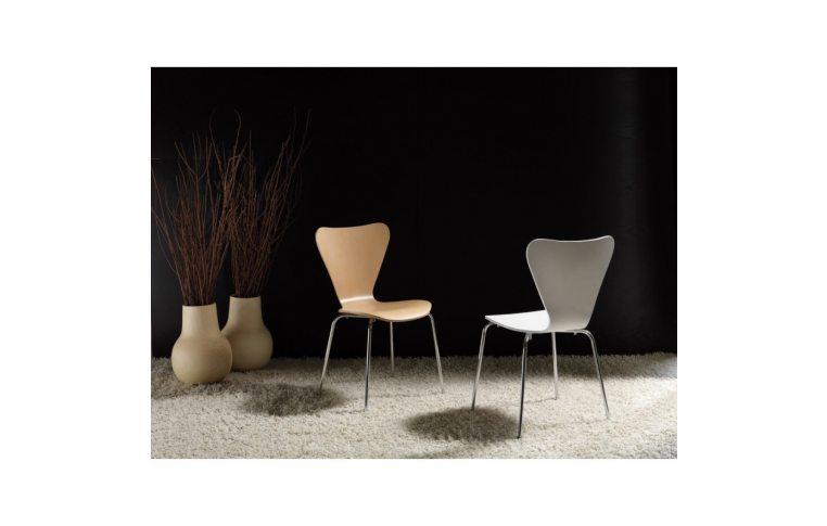 Кухонные стулья: купить Стул Ант, гнутая фанера, белый - 3