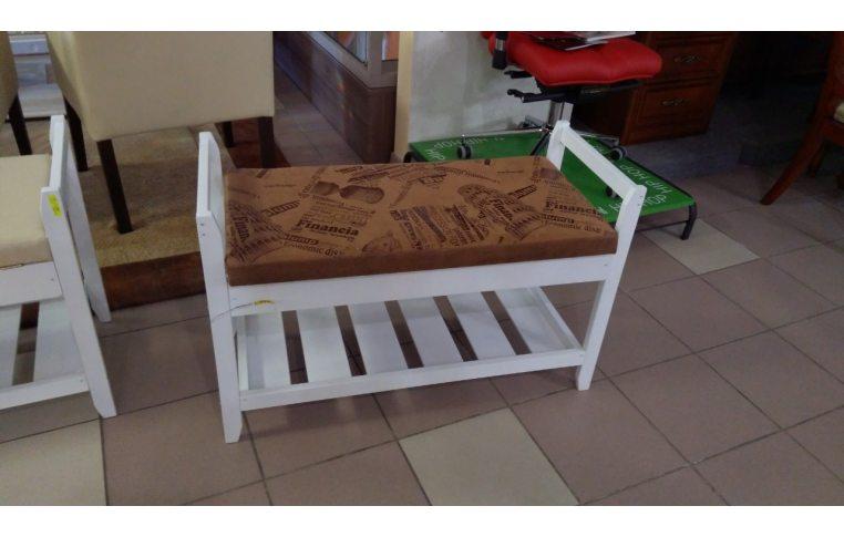 Мягкая мебель: купить Полка для обуви №2 белая 2 - 1