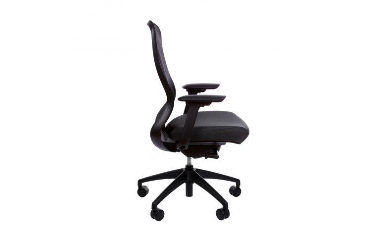 Эргономические кресла: купить Эргономичное кресло для компьютера In-point black Kreslalux - 2