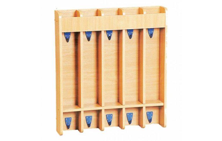 Мебель для детского сада: купить Вешалка для полотенец настенная - 1