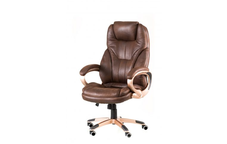 Офисные кресла: купить Кресло Bayron dark brown - 1