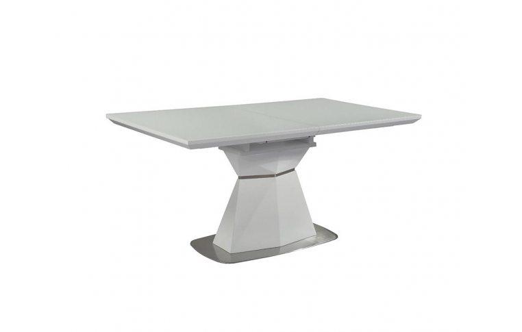Кухонные столы: купить Стол Кристал белый - 1