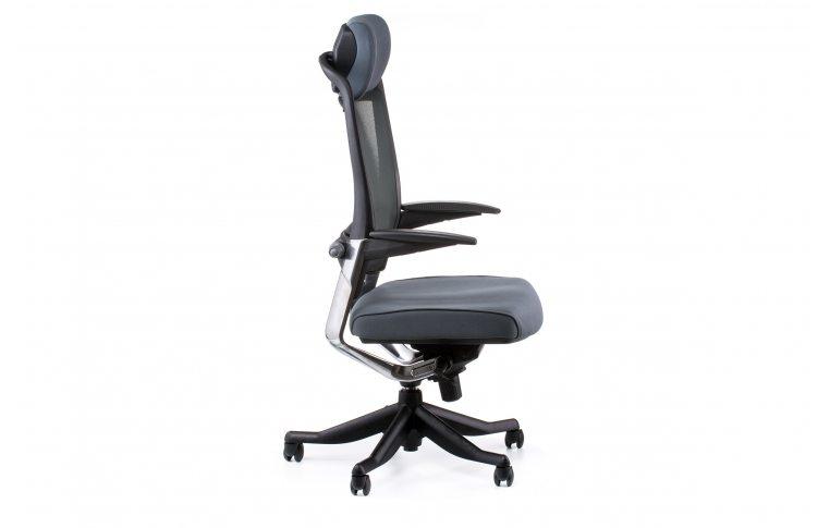 Офисные кресла: купить Кресло FULKRUM SLATEGREY FABRIC, SLATEGREY MESH - 5