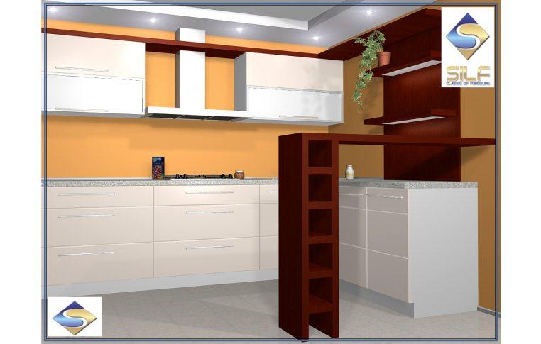 Кухни на заказ: купить Кухня под заказ Ребекка Сильф - 1