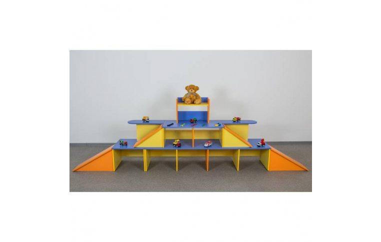 """Мебель для детского сада: купить Стенка """"Паркинг"""" - 1"""