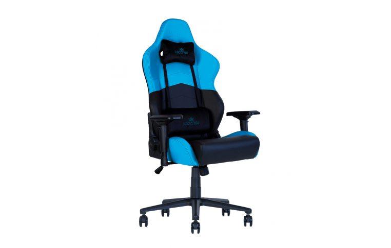 Геймерские кресла: купить Кресло для геймеров Hexter rc r4d Tilt mb70 Eco/01 Black/Blue - 5