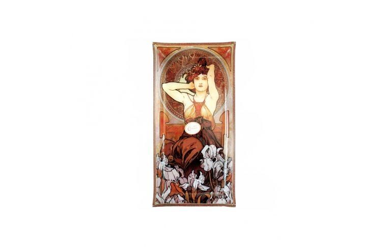 Декор для дома: купить Тарелка декоративная «Альфонс Муха. Аметист» - 1
