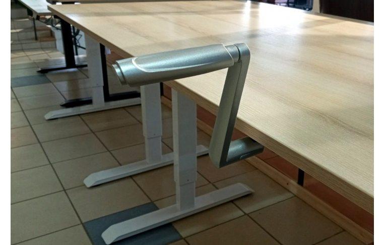 Эргономичные столы: купить Стол с механической регулировкой высоты Aoke Manual - 7