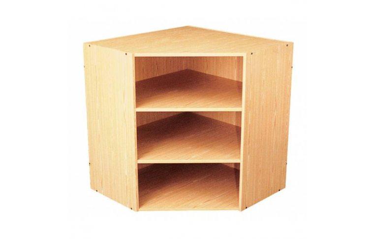 Школьные шкафы: купить Секция угловая большая верхняя С-011 - 1