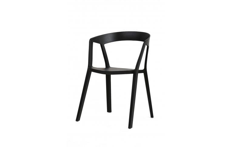 Кухонная мебель: купить Кресло Корнер (черный) Domini - 1