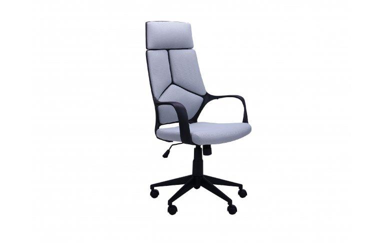 Кресла для руководителя: купить Кресло Urban HB черный, тк.серый - 1