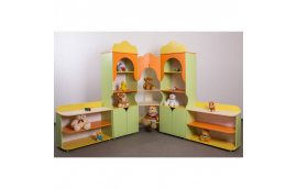 """Мебель для детского сада: купить Стенка """"Колокольчик"""""""