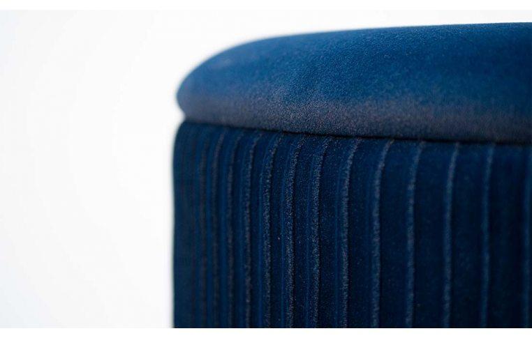 Пуфы: купить Пуф Томас мягкий синий - 2