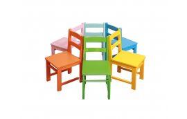 Стул детский разноцветный - Школьные стулья