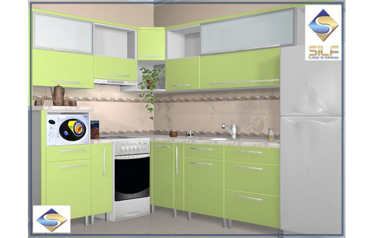 Кухни на заказ: купить Кухня под заказ Арьяна Сильф - 1