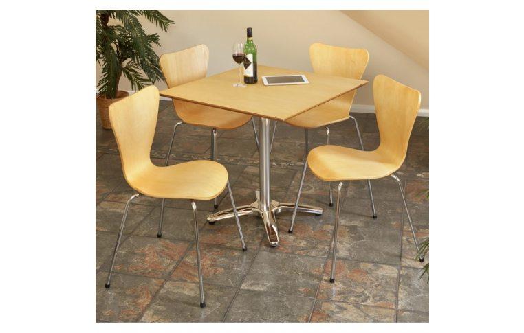 Кухонные стулья: купить Стул Ант, гнутая фанера, натуральный дуб - 3