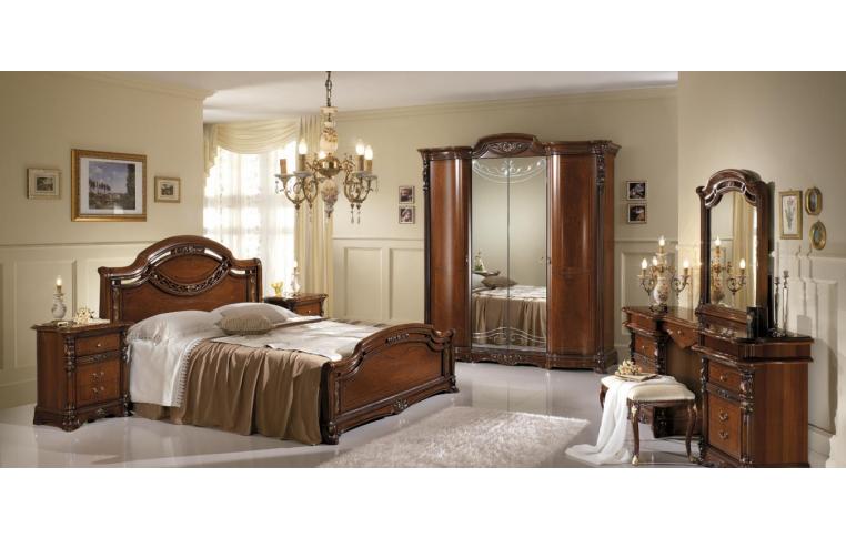Итальянская мебель для спальни: купить Спальня Regina noce Mobil Piu - 4