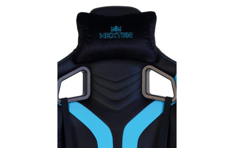 Игровые кресла: купить Кресло для геймеров Hexter Pro r4d Tilt mb70 Eco/03 Black/Blue - 8