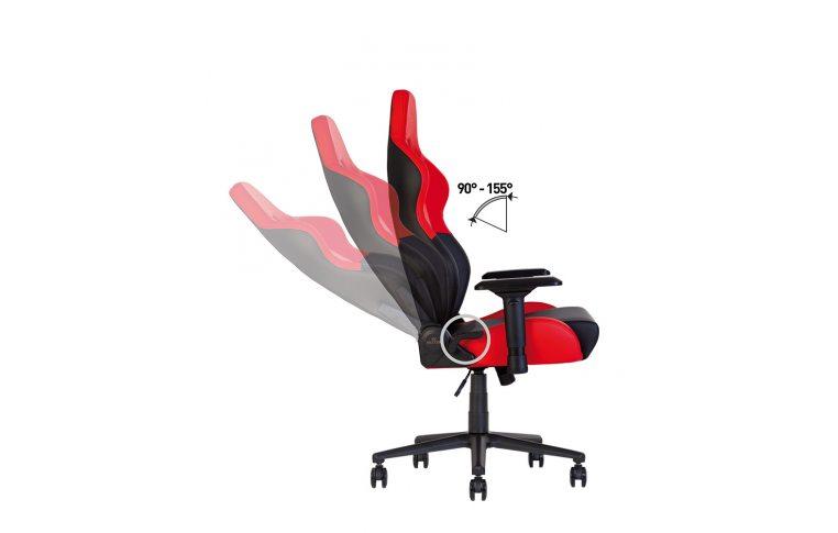 Игровые кресла: купить Кресло для геймеров Hexter pc r4d Tilt mb70 Eco/01 Black/Red - 11