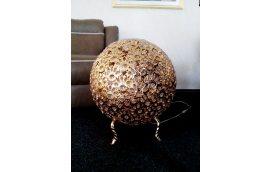Светильник напольный, золотой шар XC81273T