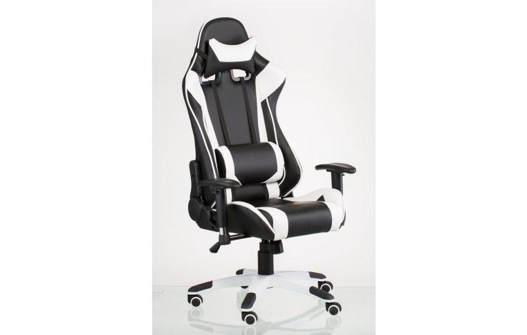 Офисные кресла: купить Кресло ExtremeRace black/white - 7