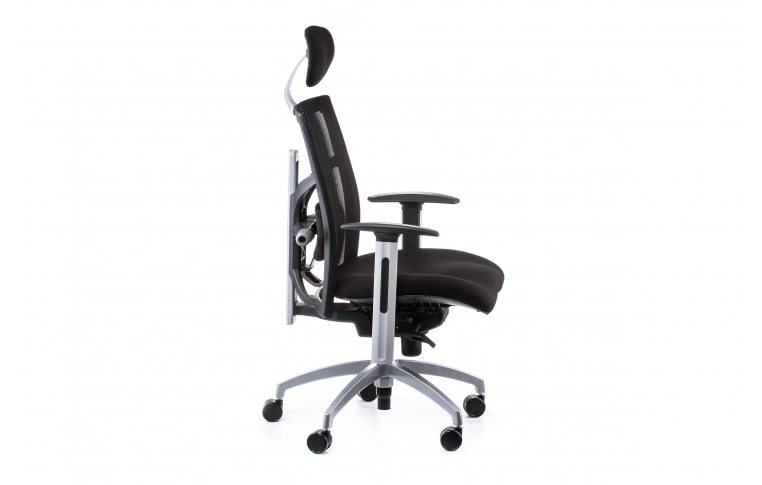 Офисные кресла: купить Кресло EXACT BLACK FABRIC, BLACK MESH - 5