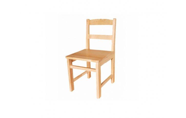 Школьные стулья: купить Стул детский из натурального дерева - 1