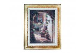 Декор для дома: купить Картина Итальянский дворик