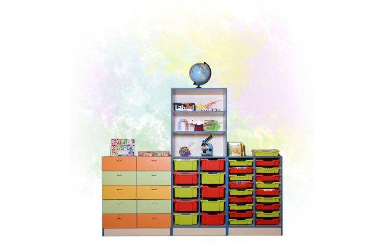 Школьная мебель: купить Шкаф для хранения дидактического материала - 1