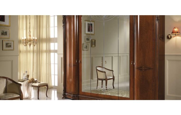 Итальянская мебель для спальни: купить Спальня Regina noce Mobil Piu - 5