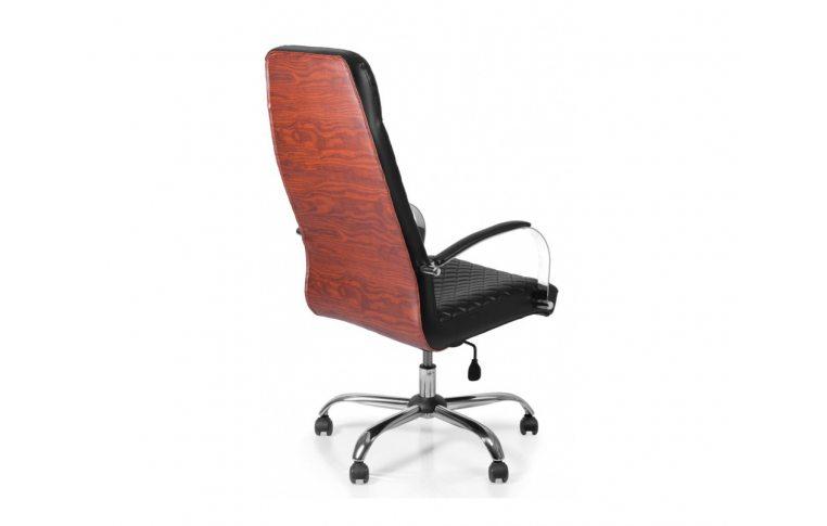 Кресла для руководителя: купить Кресло Barsky Chief Black Rhombus/Red tree chr CF-07 - 2